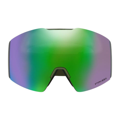 oo7099-16 Oakley Fall Line XL Factory Pilot Progression Snow Goggle Factory Pilot Progression/snow jade iridium front