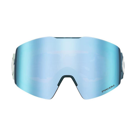 oo7099-17 Oakley Fall Line XL Mark McMorris Progression Snow Goggle clas camo blue/snow sapphire iridium front