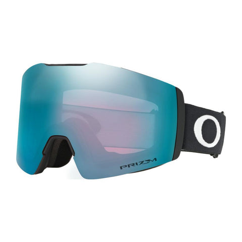 oo7103-12 Oakley Fall Line XM Snow Goggle matte black/snow sapphire iridium side