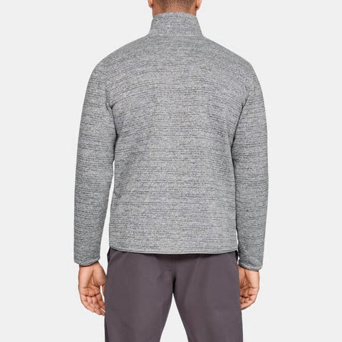 1316276-035, Steel, Grey, Under Armour, Specialist Henley, Mens Crew neck sweatshirt, Fall 2019, back view