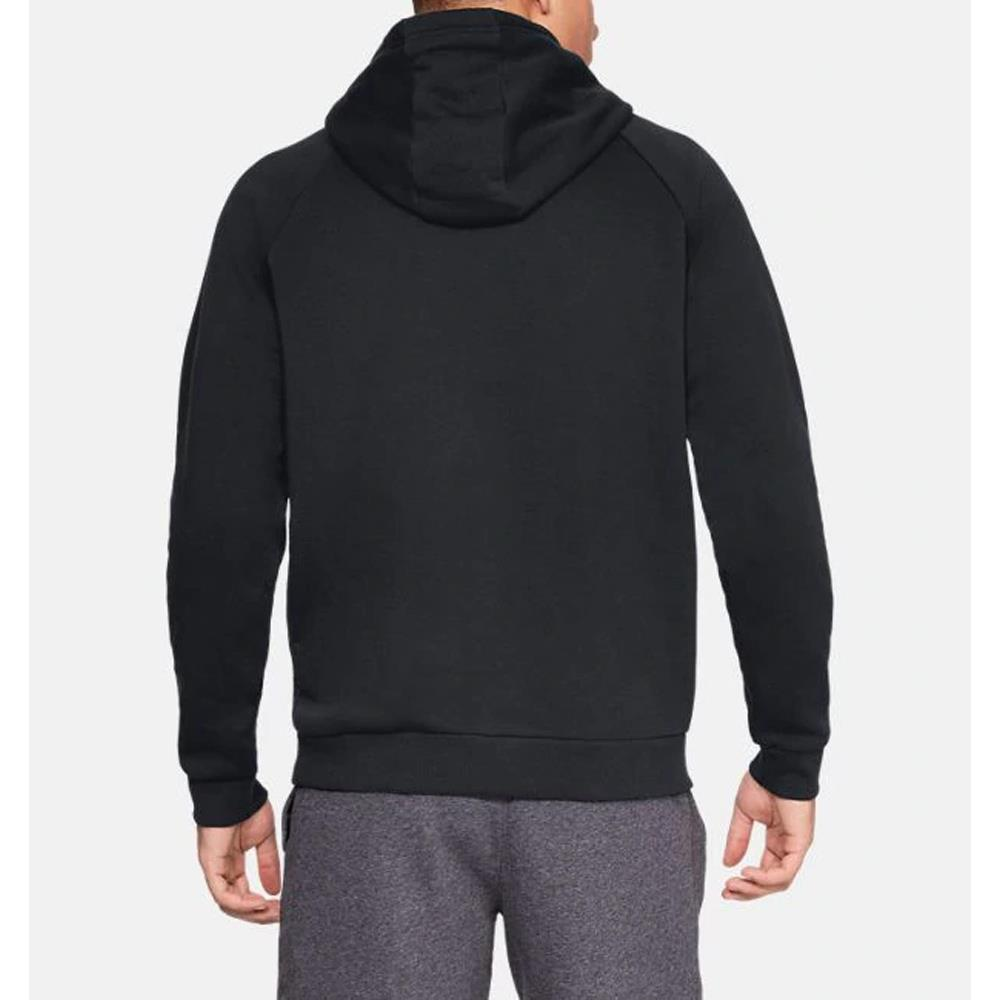 1329745-001, Black, Rival Fleece Box Hoodie, Mens Pullover Hoodies, Fall 2019, Back View