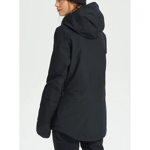 205421-01001, Black, True Black, Womens Outerwear, Burton, Gore-Tex Kaylo Jacket, Womens Jackets, Winter 2020, Back View