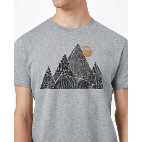 Ten Tree Mens Mountain Peak Classic T-Shirts