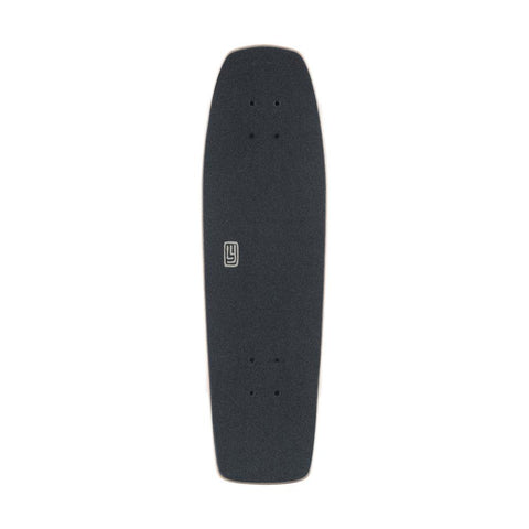 120CP-UBDYCFENG, LANDYACHTZ, GREY, BLACK, DINGHY COFFIN ENGRAVING COMPLETE, COMPLETE LONGBOARDS, MINI CRUZERS, SPRING 2020