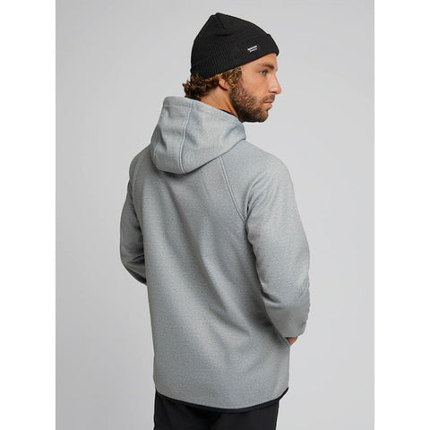 22024100021, Grey Heather, Burton, Crown Weatherproof Pullover Hoodie