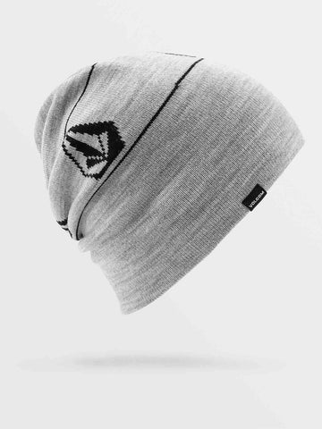 J5852103,Volcom,Heather Grey,Grey,Mens beanie