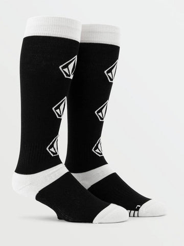 J6352102-VOLCOM-BLACK-MENS SOCKS