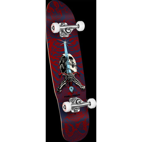 Powell Peralta Mini Skull and Sword Complete Skateboard