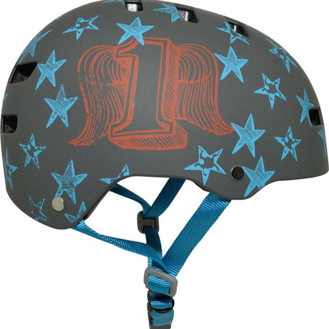BE-8050853, KRASH, ADULT HIGH FLYER GREY, BELL, BIKE HELMET