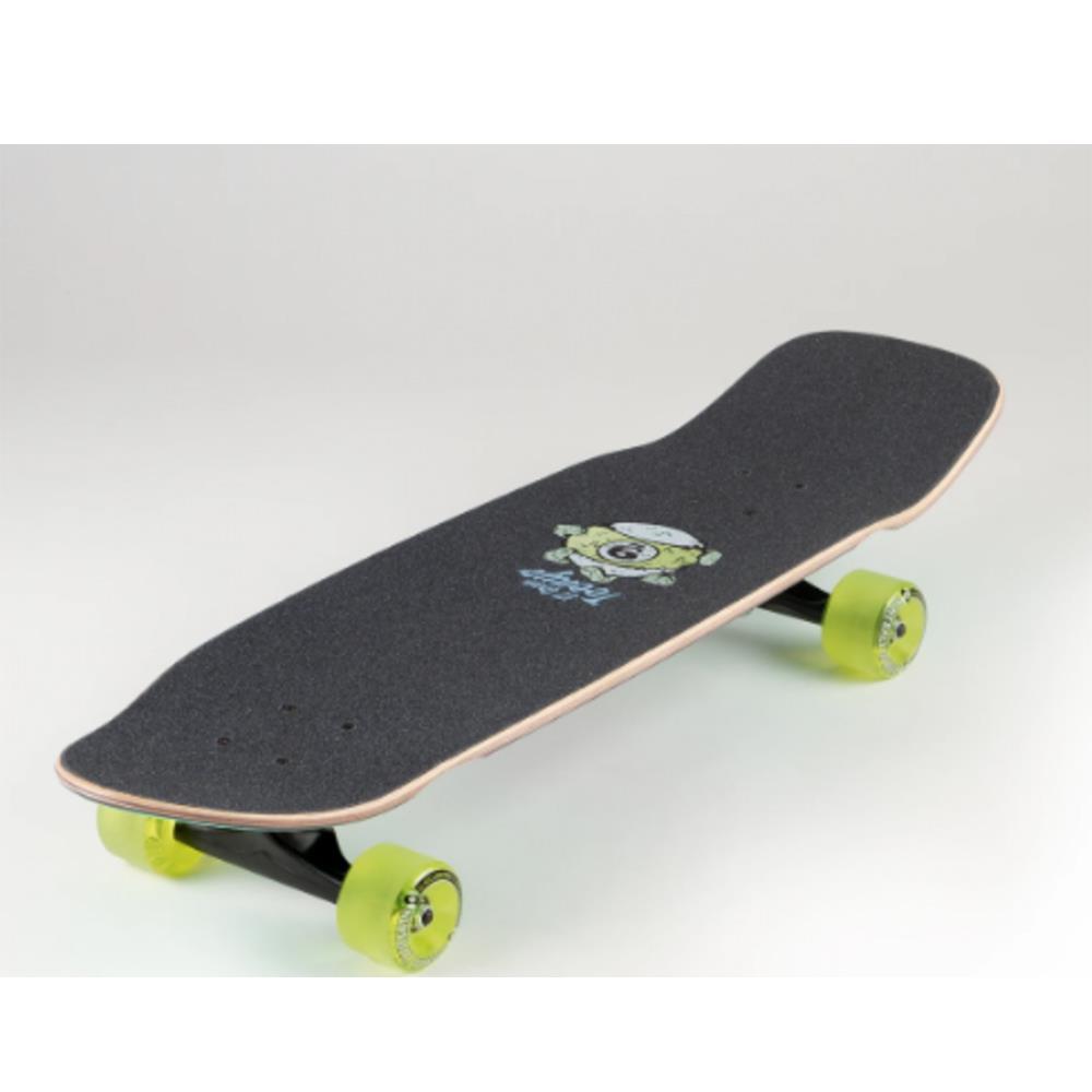 A20AT04, Sector 9, Return Of The Shred Complete, Longboard Completes, Green, Mint, Pink