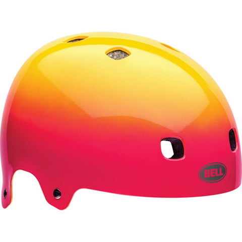 BE-7056552, BELL, SEGMENT PINK/YELLOW COMET, BIKE HELMETS,