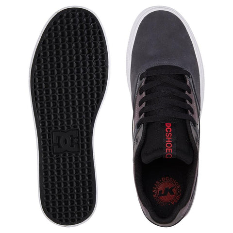 ADYS300569-XSKR, Grey, Red, DC, Mens Skate Shoes, Mens Shoes,