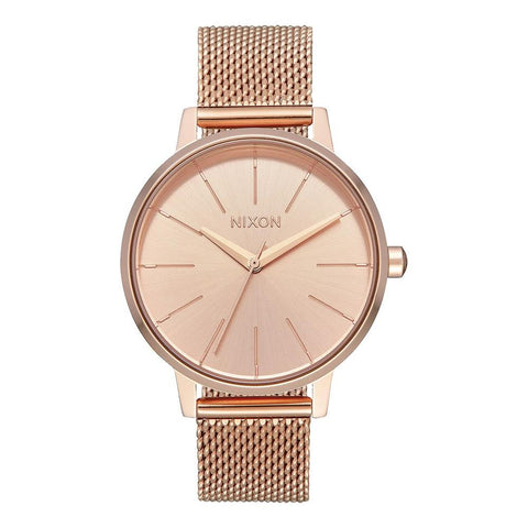 A1229-897-00, ALL ROSE GOLD, Kensington Milanese, Nixon, Womens Metal Band Watches