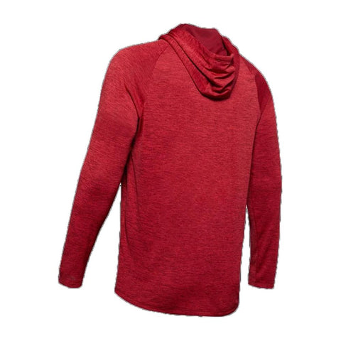 1328703-615, Red, Under Armour, UA Tech 2.0 Hoodie, Mens Pullover Hoodies
