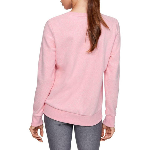 1349095-691, Under Armour, Rival Fleece Sportstyle, Pink, Womens Crewneck Sweatshirts