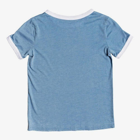 ERGZT03617-BLF0, Blue, Girls T-shirts, Short Sleeve, Roxy,