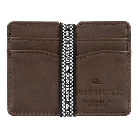 EQYAA03923-CSD0, Mens Wallets, Leather, Brown, Quiksilver,