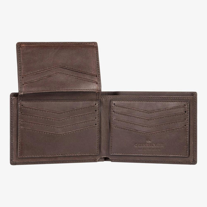 Quiksilver Acktor Leather Wallet