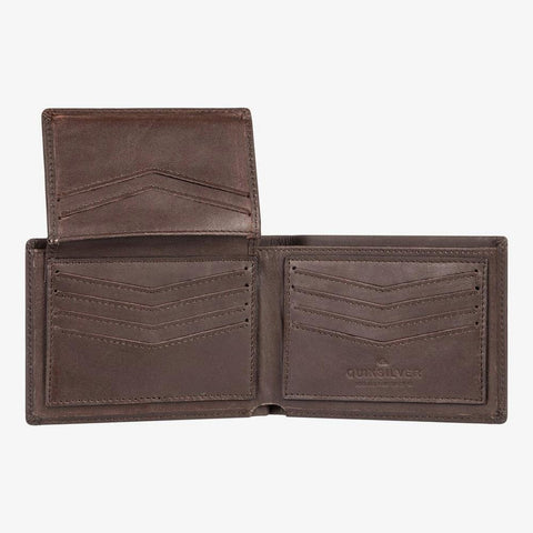 EQYAA033897-CSD0, Brown, Leather, Mens Wallets, Quiksilver,
