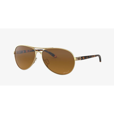 700285942414, OO4079-1159, FEEDBACK, POLISHED GOLF WITH BROWN GRADIENT POLARIZED, WOMENS SUNGLASSES,