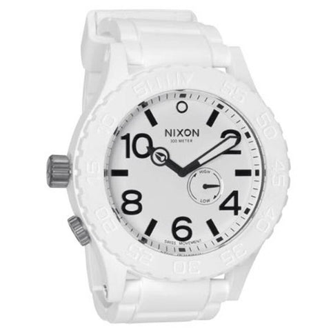 Nixon Rubber 51 30 Mens Rubber Strap Watches