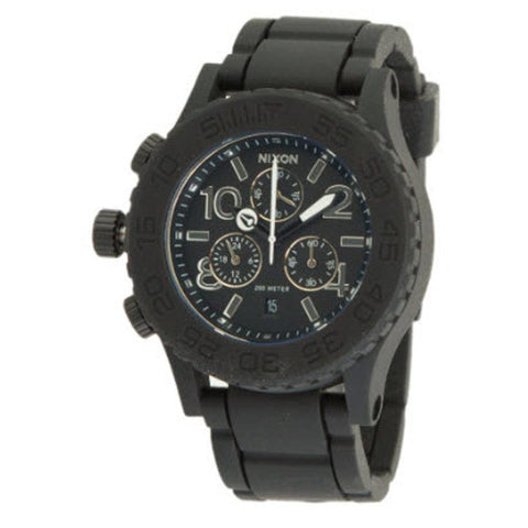 Nixon Rubber 42 20 Chrono Womens Rubber Strap Watches