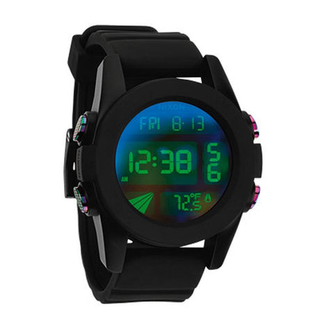 Nixon The Unit Cosmos Mens Rubber Strap Watches