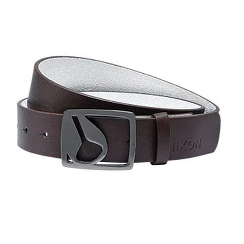 Nixon Icon Cut Out Mens PU Leather Belts