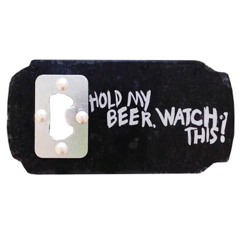 ASBH, Hold My Beer Bottle Opener, Winter 2020, Stomp Pads, Snowboard Equiptment