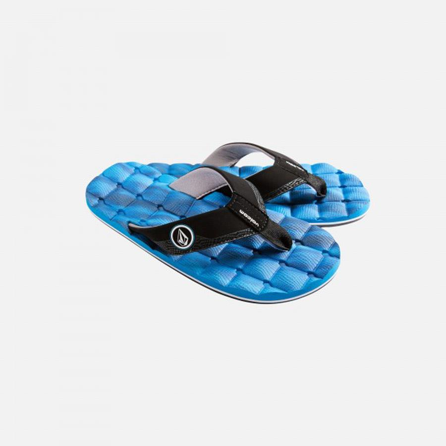 VOLCOM RECLINER BOYS 7+ IN SANDALS YOUTH - YOUTH BOYS SANDALS - KIDS SANDALS - KIDS SHOES