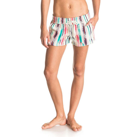 Roxy Oceanside Yarn Dye Womens Fabic Shorts