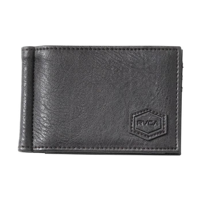 RVCA KLIPS BIFOLD WALLET IN MENS ACCESSORIES WALLETS - MENS WALLETS - PURSES AND WALLETS