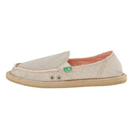 Sanuk Hot Dotty Womens Slip On Shoes