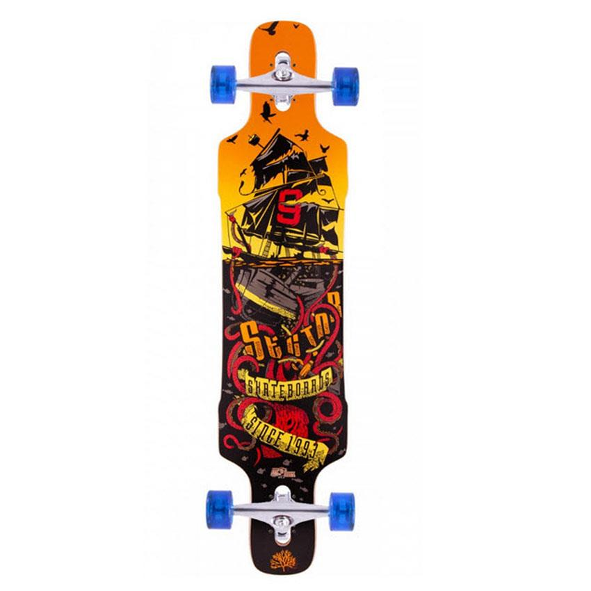 SECTOR 9 DROPPER COMPLETE 2015 IN COMPLETE LONGBOARDS - DROP THROUGH TRUCKS LONGBOARD - LONGBOARD COMPLETE