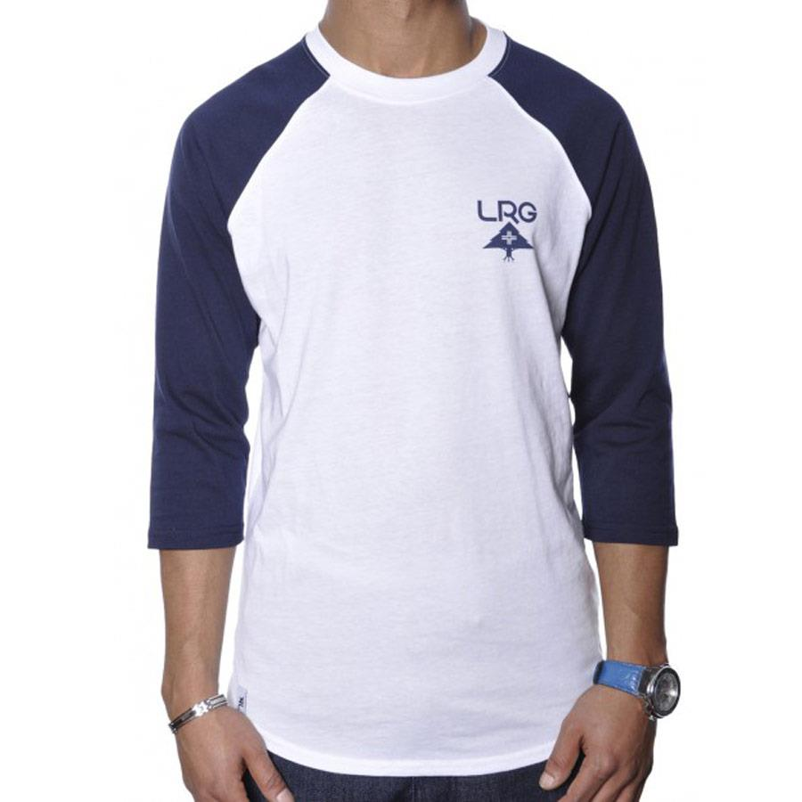 LRG RC BASEBALL TEE IN MENS CLOTHING L/S T-SHIRTS - MENS T-SHIRT LONG SLEEVE - T-SHIRTS