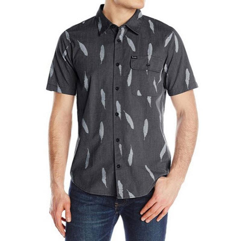 LRG PLUMAGE SS WOVEN IN MENS CLOTHING S/S WOVEN - MENS BUTTON UP SHORT SLEEVE SHIRTS