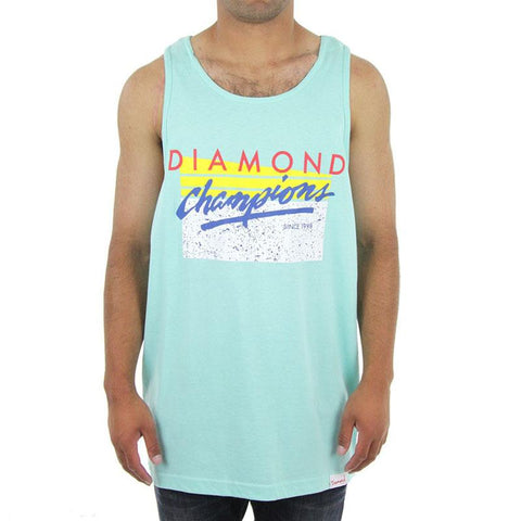 DIAMOND CHAMPION TANK IN MENS CLOTHING TANK TOPS - MENS TANK TOPS AND JERSEYS - T-SHIRTS