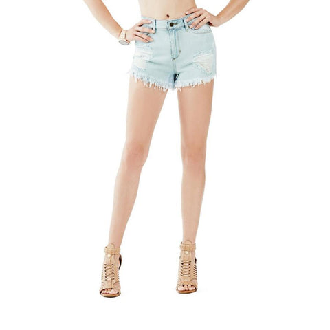 c8db510a9a GUESS 1981 SHORTS IN WOMENS CLOTHING JEAN SHORTS - WOMENS JEAN SHORTS -  SHORTS