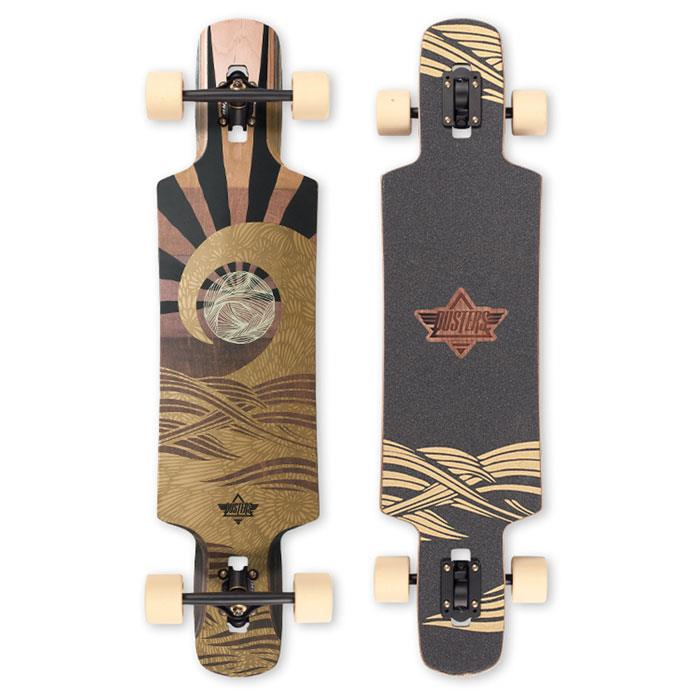 DUSTER TERRA LONGBOARD COMPLETE IN LONGBOARD COMPLETES - DROP THROUGH TRUCKS LONGBOARD - LONGBOARD COMPLETES