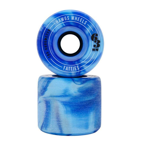 LANDYATCHZ FATTIE HAWGS 63MM IN LONGBOARD WHEELS - SLIDING WHEELS - LONGBOARD WHEELS