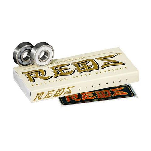 Bones Reds Ceramic Longboard Bearings