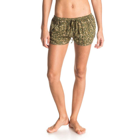 Roxy Run Away Womens Fabric Shorts