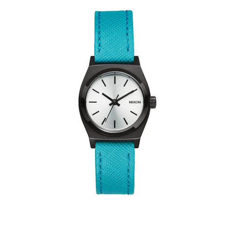 Nixon Small Time Teller Womens Leather Strap Watches