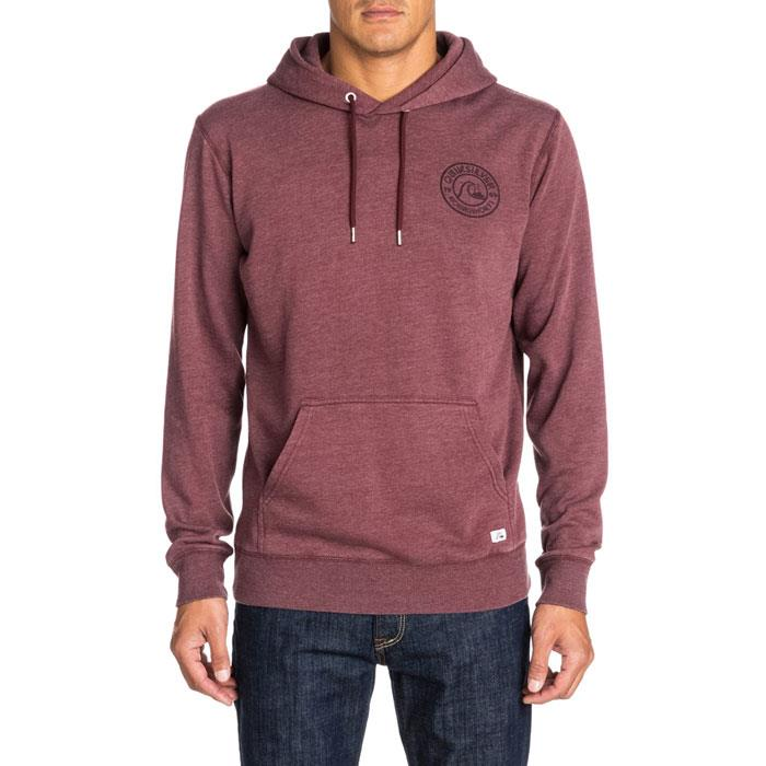 QUIKSILVER PRESCOTT HOOD IN MENS CLOTHING HOODIES - MENS PULLOVER HOODIES - MENS SWEATSHIRT