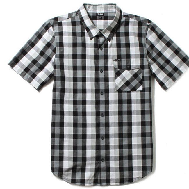 LRG RC PLAID SHORT SLEEVE WOVEN SHIRT IN MENS CLOTHING S/S WOVEN - MENS BUTTON UP SHORT SLEEVE SHIRTS