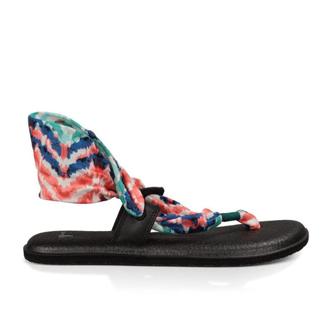 Sanuk Yoga Slinglet Prints Womens Fashion Sandals