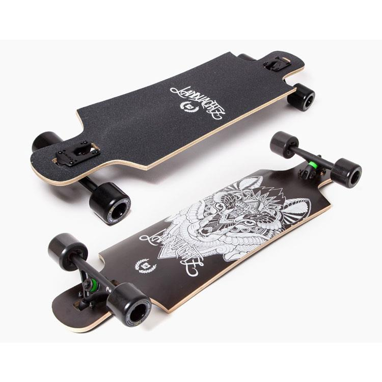LANDYACHTZ FIBERGLASS DROP HAMMER COMPLETE IN LONGBOARD COMPLETES - DROP THROUGH TRUCKS LONGBOARDS - LONGBOARD COMPLETES