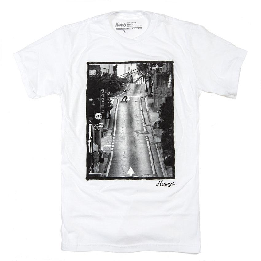 LANDYACHTZ HAWGS PHOTO SHIRT IN MENS CLOTHING S/S T-SHIRTS - MENS T-SHIRTS SHORT SLEEVE - T-SHIRTS