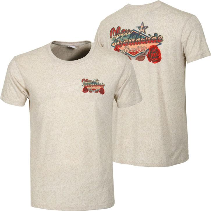 OBEY HIGHWAY ROSE IN MENS CLOTHING S/S T-SHIRTS - MENS T-SHIRTS SHORT SLEEVE - T-SHIRTS