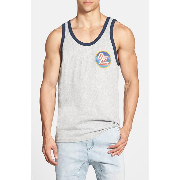OBEY FAR OUT TANK IN MENS CLOTHING TANK TOPS - MENS TANK TOPS  AND JERSEYS - T-SHIRTS